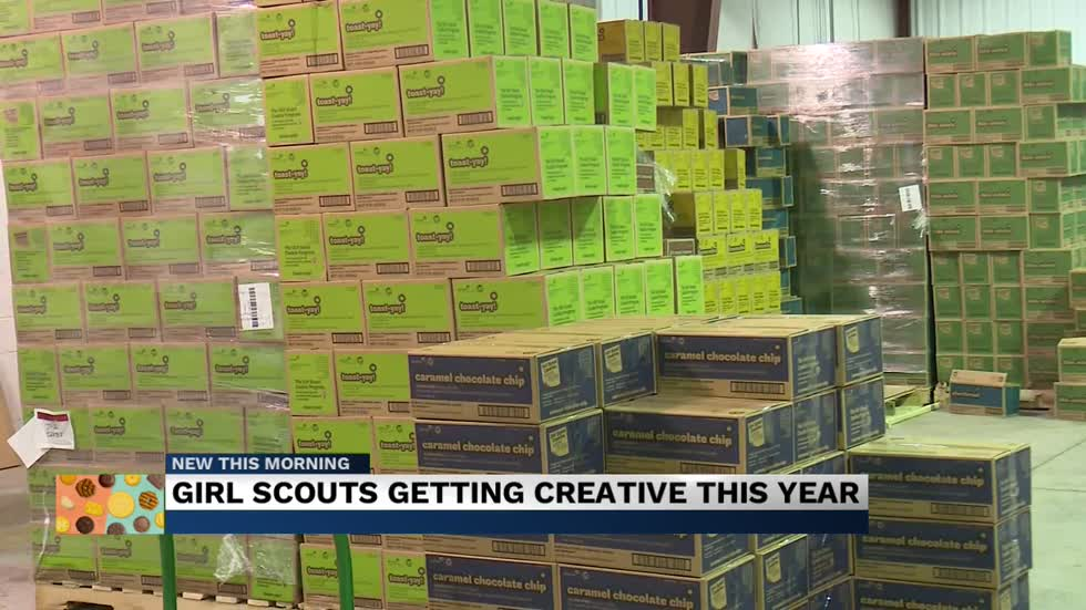 Girl Scouts persevere through pandemic setbacks for cookie sales